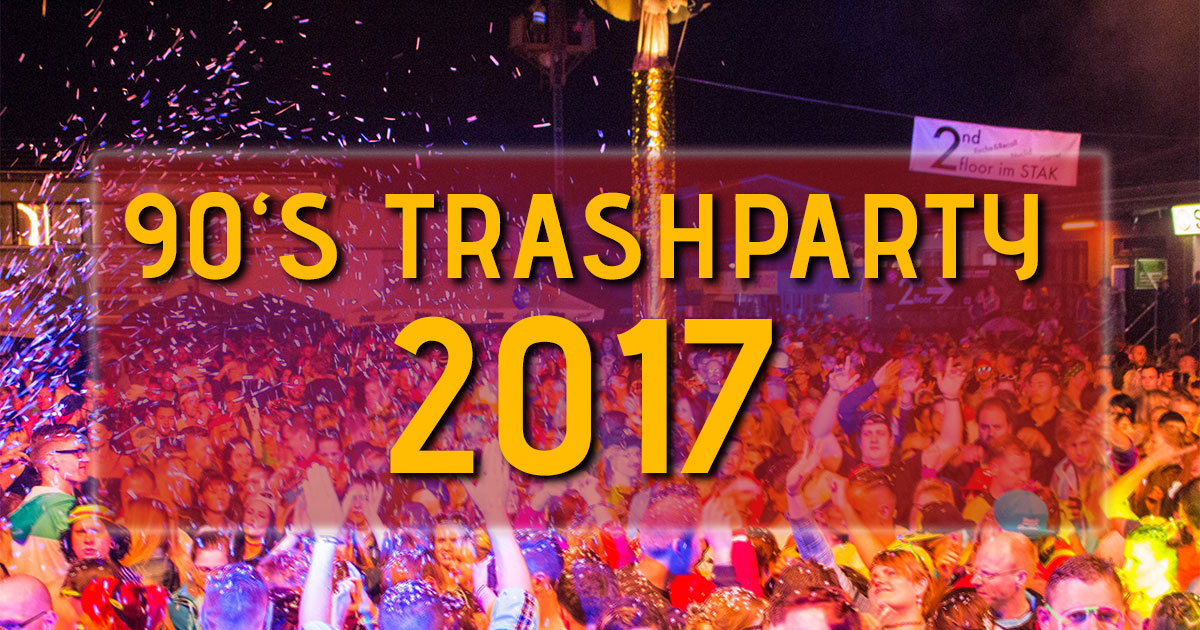 90's TrashParty 2017-06-03